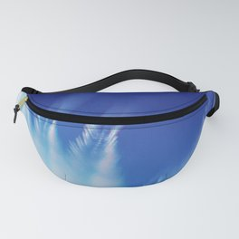 White Feathers Floating Up to Heaven Fanny Pack