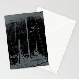 Vintage Design Sankt Thomas Harbor Stationery Cards