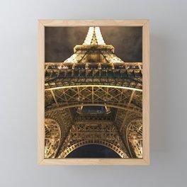 la tour magnifique Framed Mini Art Print