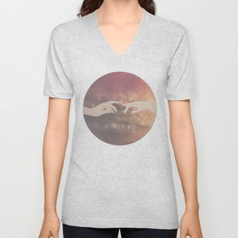The Space Between. Unisex V-Neck