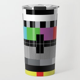 Mire - Testcard - Big Bang Theory Travel Mug