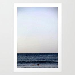 Surf Paradise Art Print