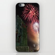 Fourth of July Fireworks in Gloucester iPhone & iPod Skin