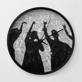 Rock'n'roll baby! Wall Clock