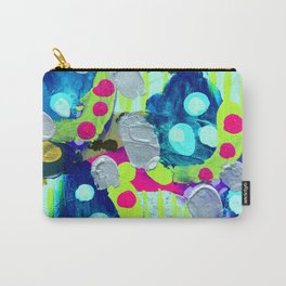 Glitter and Silver Carry-All Pouch