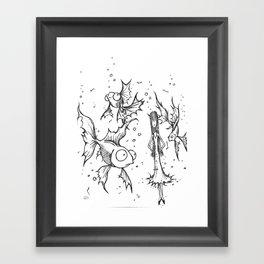Fishfbowl dream Framed Art Print
