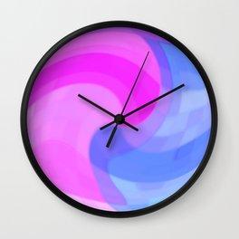 Sweet Squares Wall Clock
