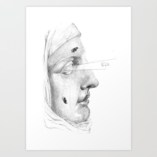 Too deaf, dumb, and blind... Art Print