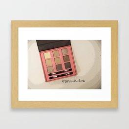 Eyeshadow Framed Art Print