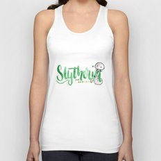 Slytherin The Ambitious  Unisex Tank Top