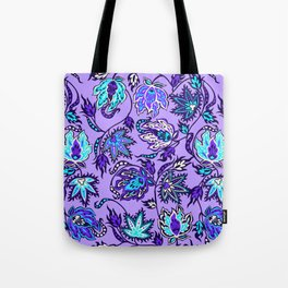 Protea Batik Hawaiian Tropical Floral Tote Bag