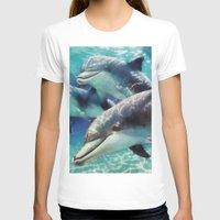dolphin T-shirts featuring Dolphin by A.Aenska-Cholpanova