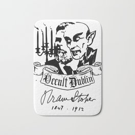 OCCULT DUBLIN series: Bram Stoker Bath Mat