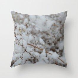 Winter's Soft Side Throw Pillow