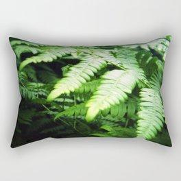 Summer ferns Rectangular Pillow