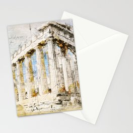 Acropolis, Athens Greece Stationery Cards