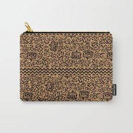 Golden Renaissance Damask Carry-All Pouch