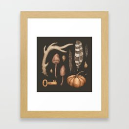 Autumnal Collection Framed Art Print