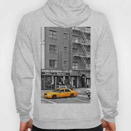 NYC - Yellow Cabs - Bagel Cafe Hoody