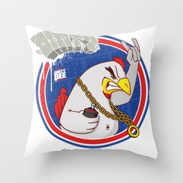 Coq Throw Pillow