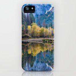 Yosemite Fall Color 11-1-18 iPhone Case