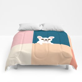 Little_French_Bulldog_Love_Minimalism_001 Comforters