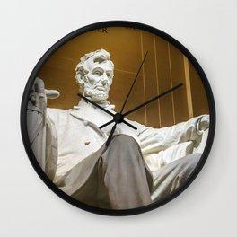 Honest Abe Wall Clock