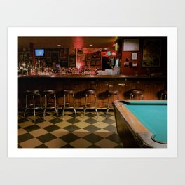 Dive Bar, Denver Art Print
