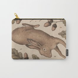 The Hare and Oak Carry-All Pouch