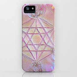 Merkaba Dreams iPhone Case