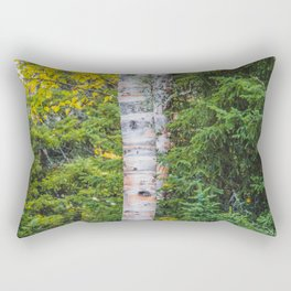 Artist Point Trail, Grand Marais, Minnesota 25 Rectangular Pillow