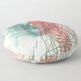 Jellyfish Floor Pillow