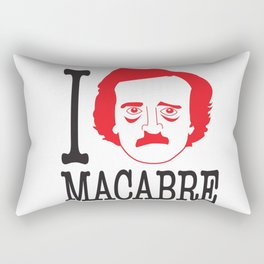 I __ Macabre Rectangular Pillow