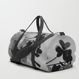 Lemon Clover Wildflowers Bouquet Duffle Bag