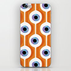Eye Pod Orange iPhone & iPod Skin