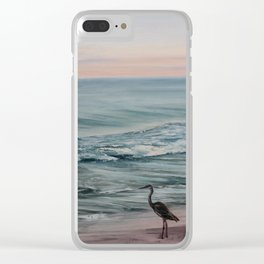 Perdido Key Sunset Clear iPhone Case