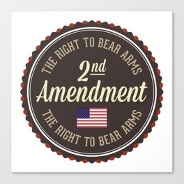 Second Amendment Canvas Print