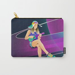 The girl from Saturn by #Bizzartino Carry-All Pouch