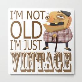 Vintage people Metal Print