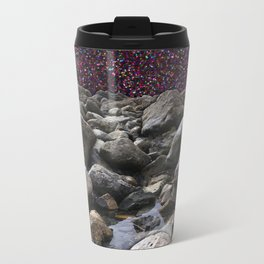 Glitter Tide Metal Travel Mug