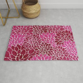 Floral Abstract 26 Rug