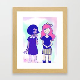 Coco & Sam  Framed Art Print