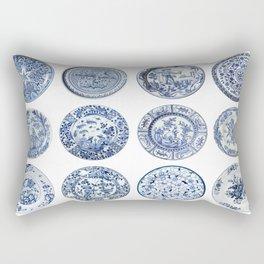 Vintage China Rectangular Pillow