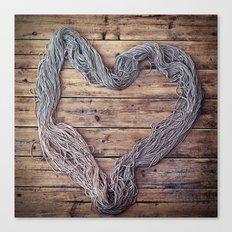 Yarn. Love. Canvas Print