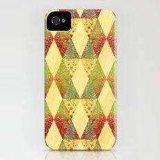 floral Slim Case iPhone (4, 4s)