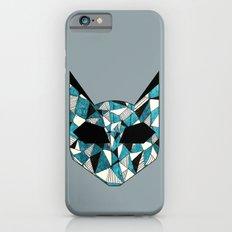 Turquoise Cat Slim Case iPhone 6s