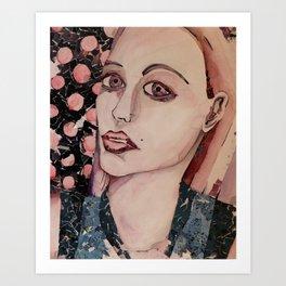 Fiona (The Caution) Art Print