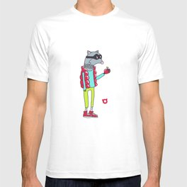 006_raccoon T-shirt