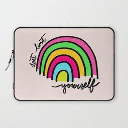 Happy Rainbow Quote Laptop Sleeve