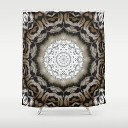 Tribal Fur Print Shower Curtain